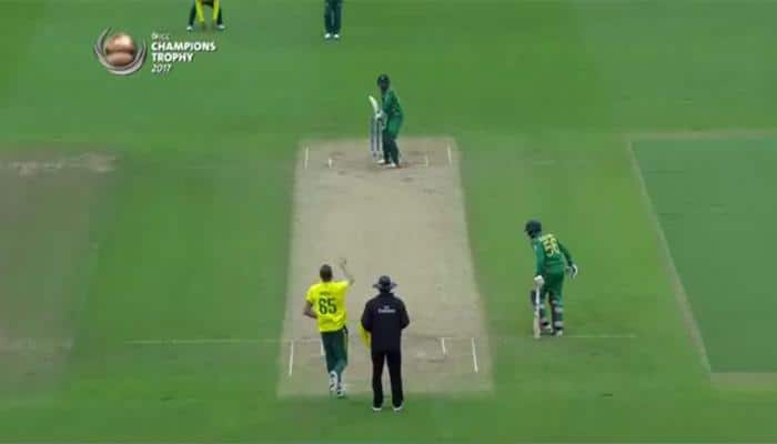 WATCH: In attempt to be cheeky, Pakistan's Azhar Ali hands Imran Tahir an easy catch at third man