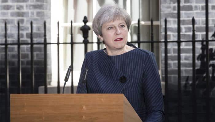 British PM Theresa May loses majority, faces pressure to resign