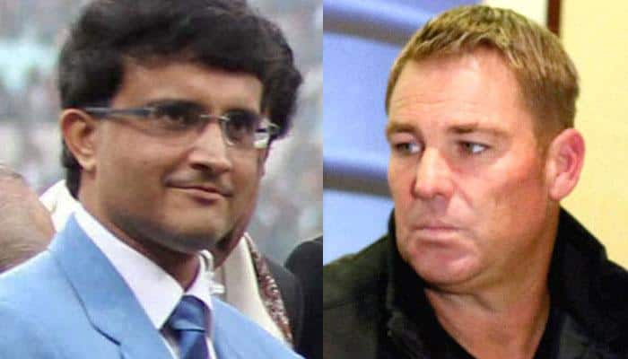 Shane Warne loses bet to Sourav Ganguly, promises to upload selfie with England shirt soon