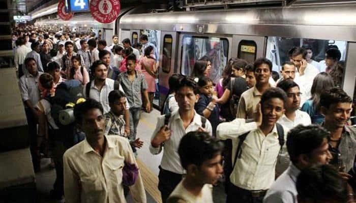 Delhi Metro news: Short-circuit halts Blue Line trains on tracks