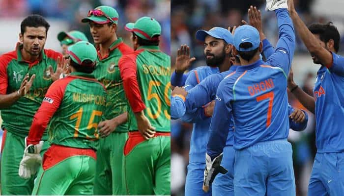 IND vs BAN: Bangladesh fan starts ugly mind games, drape dog in Indian flag being chased by Tiger