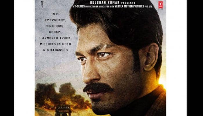 'Baadshaho' Poster: Vidyut Jammwal looks intriguing as the 'Badass with a badge'