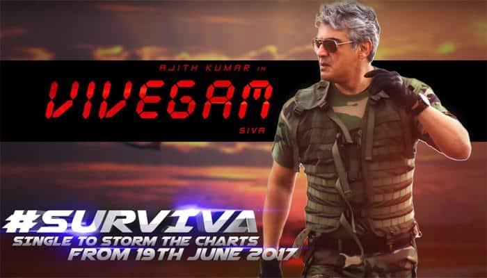 Vivegam: Ajith Kumar's 'Surviva' song teaser is winning the internet! - Watch
