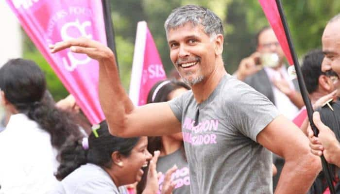 Milind Soman is in LOVE one more time and we bet you can't guess her name!