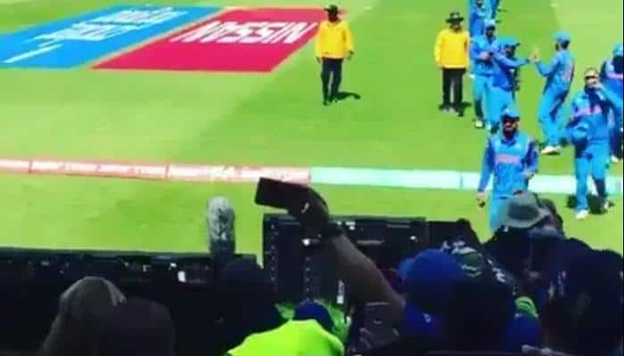 WATCH: Dramatic scenes during India-Bangladesh innings break show how much fans love Virat Kohli & Co
