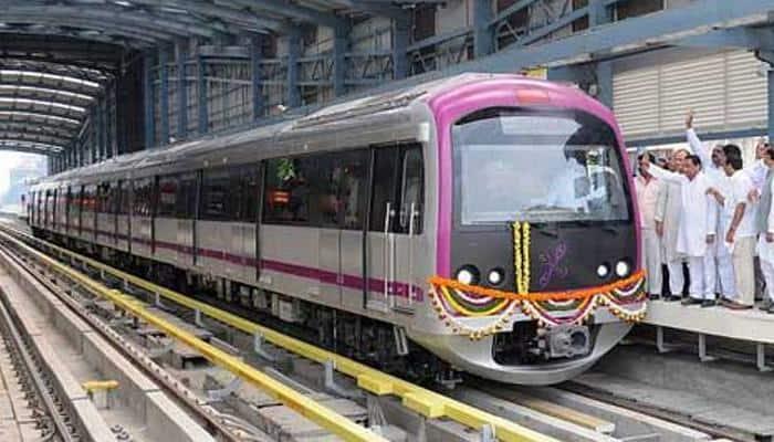 Bengaluru's Namma Metro: President Pranab Mukherjee to inaugurate Green Line section today