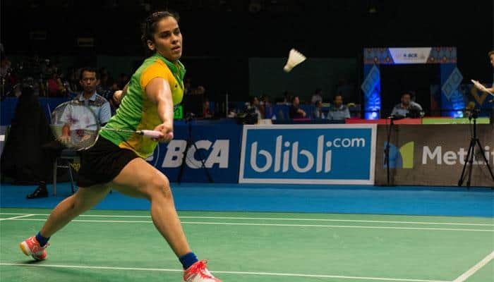 Defending champion Saina Nehwal crashes out of Australian Open Super Series
