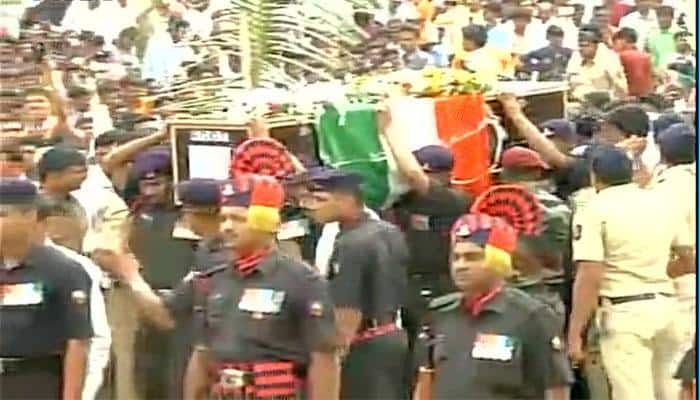 Maharashtra jawan martyred in Jammu and Kashmir cremated on son's 1st birthday