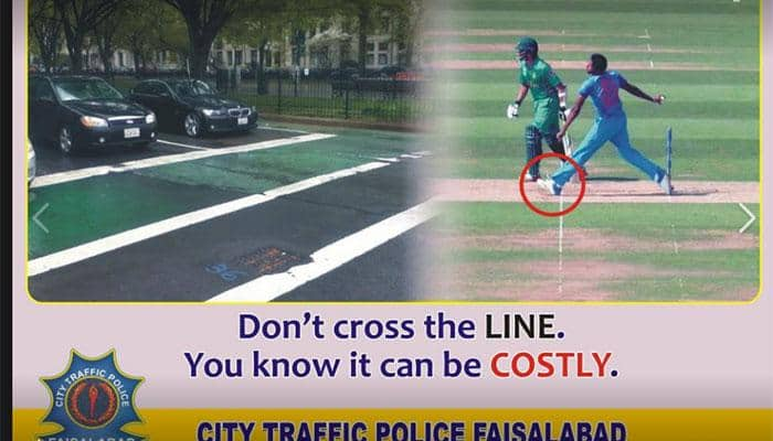No-ball lesson: After Jaipur Police, Pakistan Police poke fun at Jasprit Bumrah