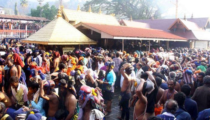 Kerala Sabarimala temple's gold-coated flag damaged; three held