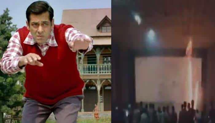 Tubelight: Salman Khan fans go berserk, burst crackers inside theatre! - Watch viral video