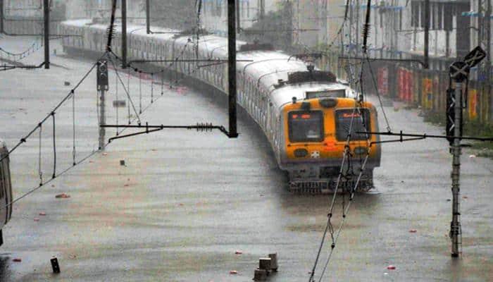 Rains lash Mumbai, adjoining areas; suburban services delayed