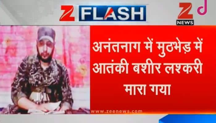 Lashkar commander Bashir Lakshari, two other terrorists killed in encounter in J&K's Anantnag