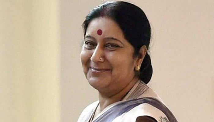 Sushma Swaraj compliments MP CM Shivraj Singh Chouhan for initiative to protect Narmada