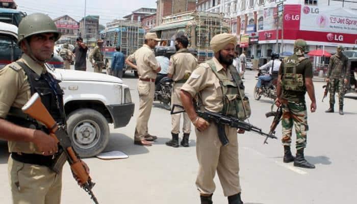 J&K cop injured in firing by militants