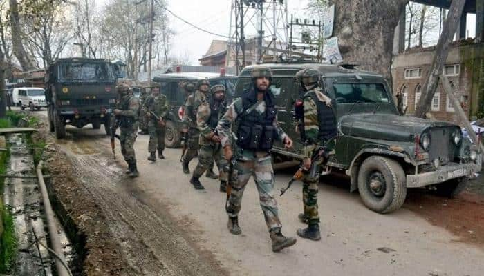Encounter breaks out in Budgam's Redwora area in central Kashmir; 2-3 terrorist believed to be trapped