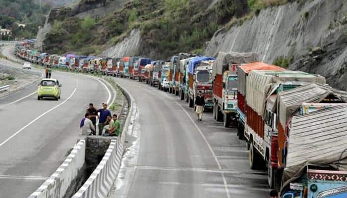 Jammu-Srinagar Highway reopens for traffic after 24-hr halt due to landslides, heavy rains