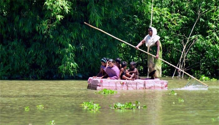Flood-hit Assam puts rescuers on 'war footing'; toll hits 53