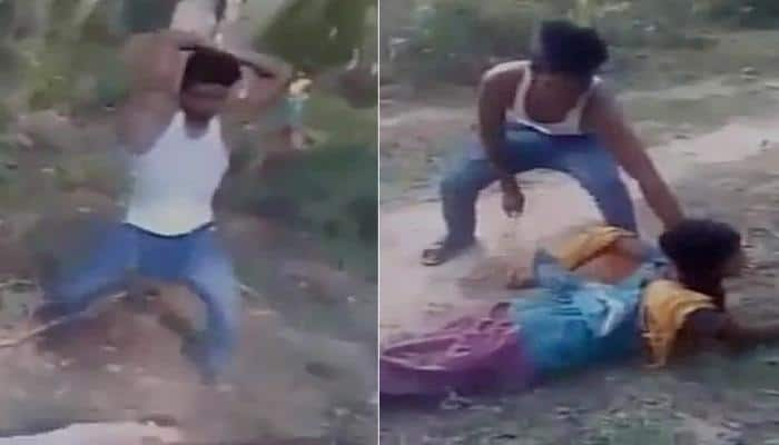 Caught on cam: Goons brutally thrash couple in UP's Maharajgang, circulate video