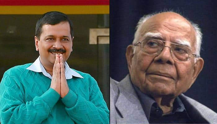 Ram Jethmalani quits as Arvind Kejriwal's counsel, asks Delhi CM to clear dues of Rs 2 crore