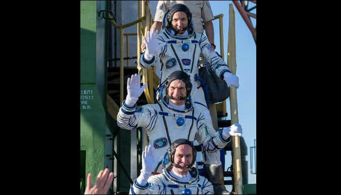 Newest members to join the ISS family, Expedition 52 crew safely arrives at space station!