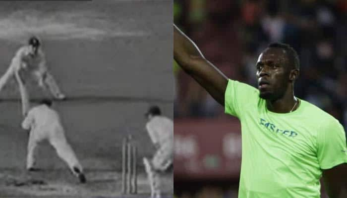 Usain Bolt finds uncanny resemblance with Don Bradman after finishing with bronze in final 100m race of his career