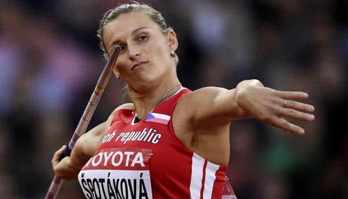 World Athletics Championships: Barbora Spotakova reclaims world javelin title 10 years on