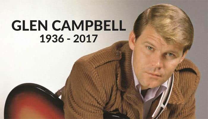 Country pop star Glen Campbell dies at 81