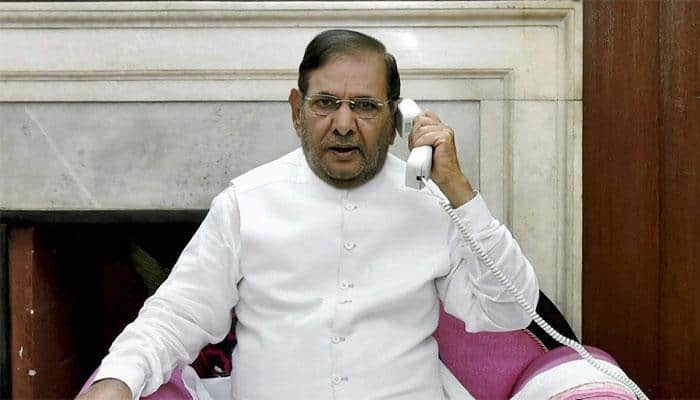 JD-U former party President Sharad Yadav says he is with Grand Alliance