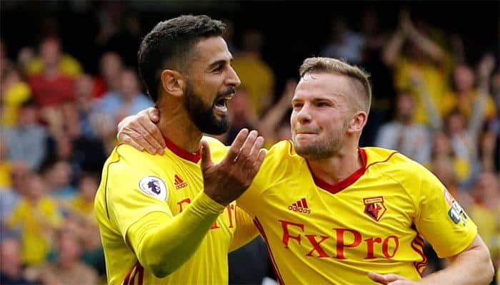 Watford strike late to hold shaky Liverpool to thrilling 3-3 draw
