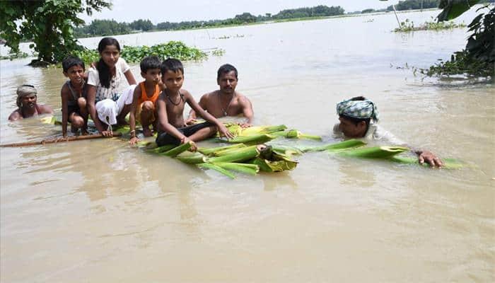 Bihar floods: At least 56 dead, 69.81 lakh people affected; rail, road traffic hit