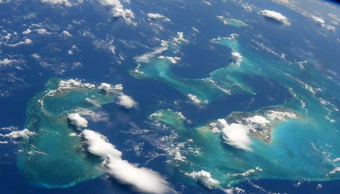 ISS astronaut Randy Bresnik shares breathtaking view of Bahamas from space station!