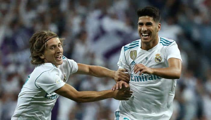 WATCH: Marco Asensio scores 33-yard screamer as Real Madrid beat Barcelona 5-1 in Spanish Sup Cup