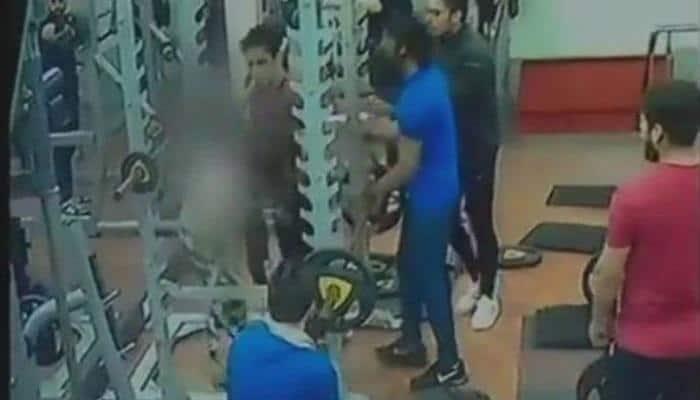 MP: Man assaults woman at gym, brutally kicks her -Watch video