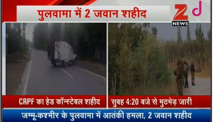 Pulwama terrorist attack: 2 jawans martyred, 5 injured; firing on