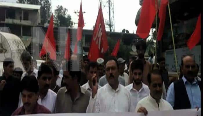 Protest erupts in Pakistan-occupied Kashmir; JKNAP, NSF demand release of political prisoners