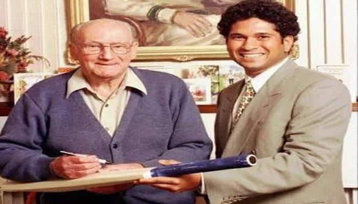 Here's what Sachin Tendulkar posted to wish Don Bradman on his 109th birth anniversary