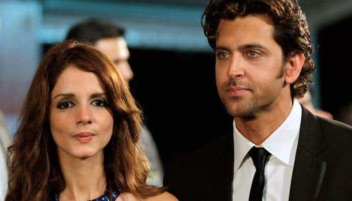 Hrithik Roshan, Sussanne Khan keep it cool and party together!