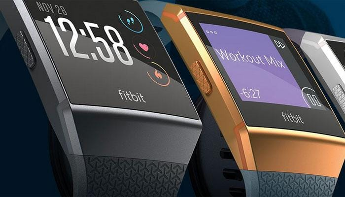 Fitbit launches Ionic smartwatch, wireless Bluetooth headphones