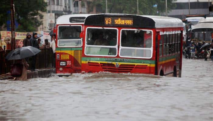 Mumbai rains: BEST operates 100 extra buses to ferry stranded commuters