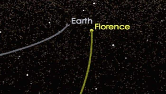 Gigantic asteroid 'Florence' safely zooms past Earth
