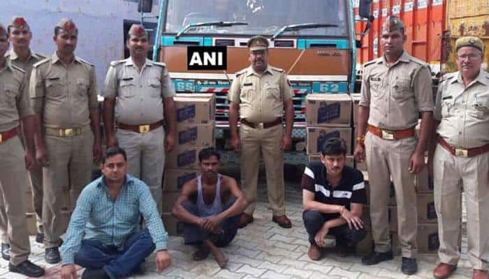 Three Inter-State smugglers arrested for illegal liquor trade to Bihar