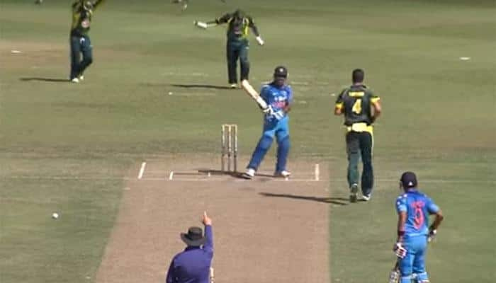 Watch: When hot-tempered Ambati Rayudu lost cool in Australia