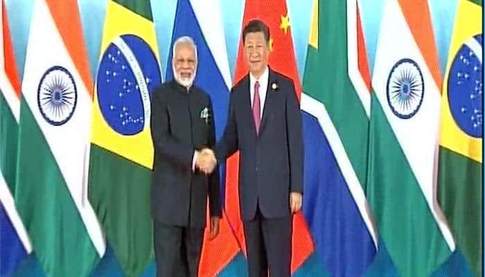 China BRICS 2017: Modi, Jinping meet under shadows of North Korea's nuclear scare