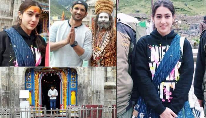 Kedarnath: Sara Ali Khan, Sushant Singh Rajput's journey begins—Watch