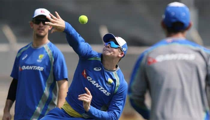 Australia's limited-overs specialists arrive in Chennai