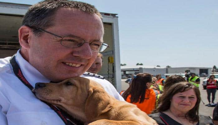 Southwest Airlines flies more than 60 animals to shelters after Hurricane Harvey