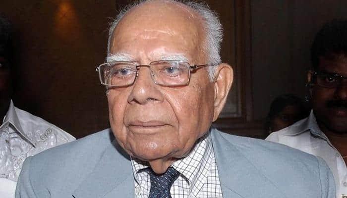 Ram Jethmalani announces retirement, terms NDA's governance a calamity