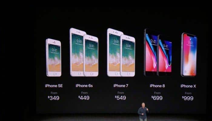 Apple unveils iPhone 8, 8 Plus, X with face ID, wireless charging facility