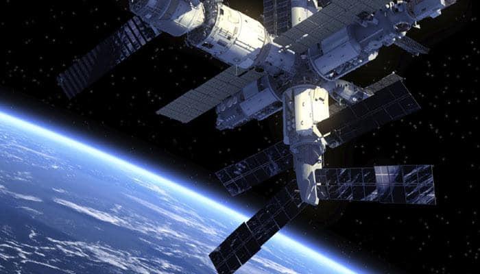 ISS astronauts welcome three new crew members